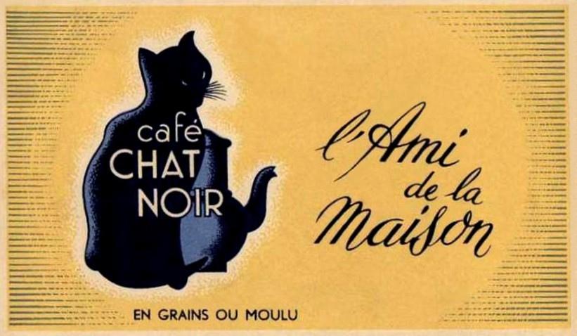 Le chat noir cafe